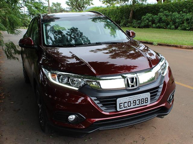 Novo Honda HR-V 2019 EXL: vídeo, preço, consumo - teste