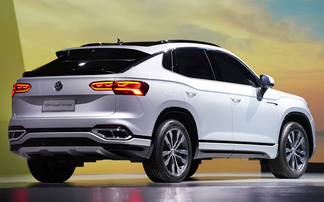 Volkswagen SUV Concept Coupé apresentado em Shanghai