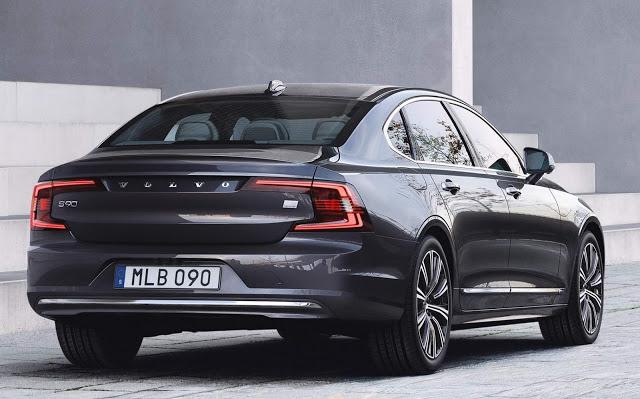 Volvo S90 e V90 2021 recebe tecnologia híbrida leve